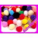 ~ 30ks ~ Bambulky ~ Ø20mm ~ mix barev