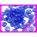 ~20 ks~ plastové korálky ~ mušličky ~ 11x13mm