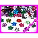 AKCE 30ks ~ Plastové květinky ~ MIX barev